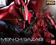 RG Sazabi Box