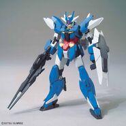 Earthree Gundam (Gunpla) (Front)
