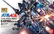 HG-AGE G-Xiphos - Box Art