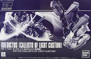 HGUC Dictus (Callisto of Light Custom)