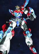 KMK-B01 Kamiki Burning Gundam (Ep 25)