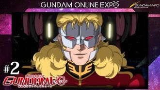 """MOBILE SUIT GUNDAM UNICORN episode 2 """"The Second Coming of Char"""""""