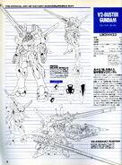 V2 Buster Gundam Lineart