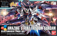 HGBF Amazing Strike Freedom box art