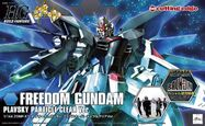 HG Freedom Gundam Plavsky Particle Clear