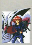 Haman Karn Illustration by Haruhiko Mikimoto