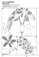 XMA-01 Rafflesia Lineart
