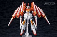 BN-876β Hot Scramble Gundam (Gunpla) (Front)