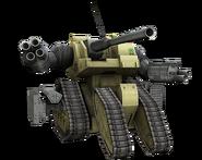 Gundam Online RTX-440 Ground Assault Type Guntank