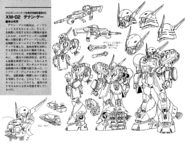 XM-02 Den'an Gei Lineart