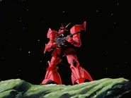 Mobile Suit Gundam Journey to Jaburo PS2 Cutscene 078 Char Gelgoog 3