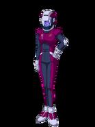 G Gen Genesis Custom Character (Female Neo Zeon Pilot)
