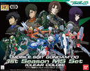 HG00 Mobile Suit Gundam 00 1st Season MS Set -Clear Color-
