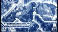 HG Unicorn Gundam 02 Banshee Unicorn Mode Dark Clear Ver