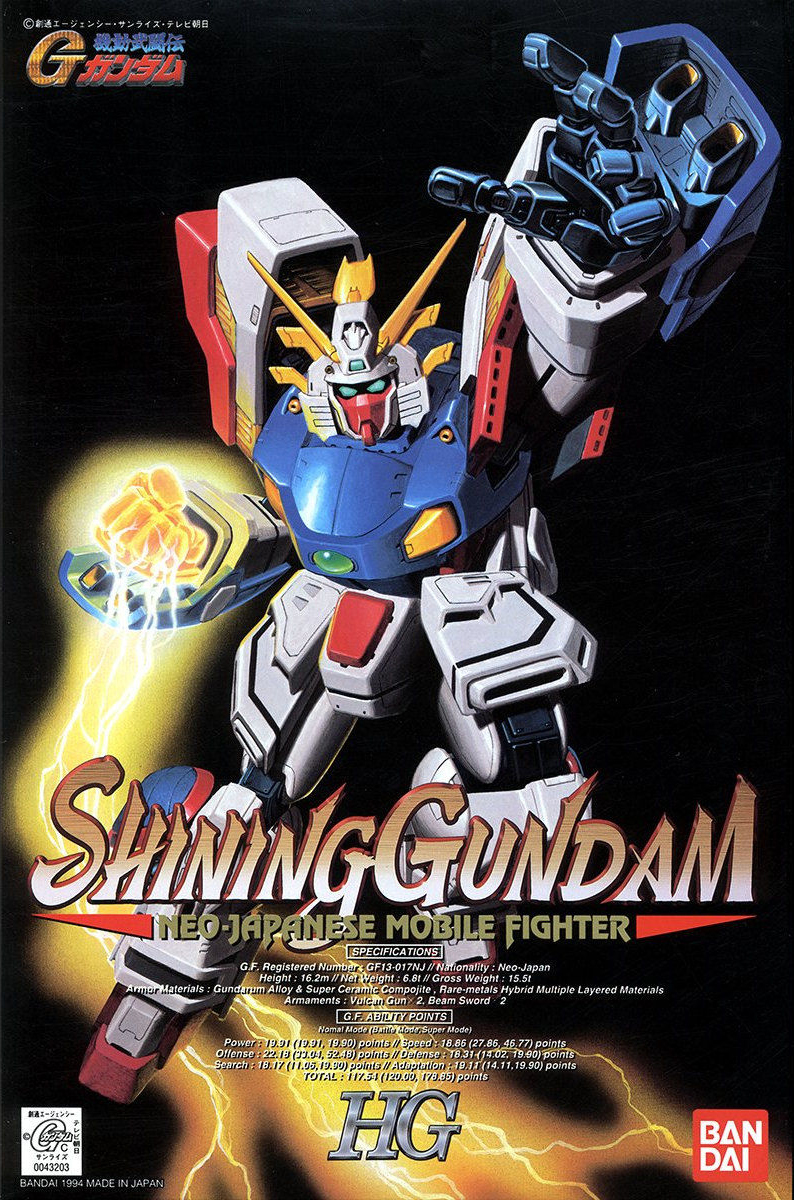 Bandai Gundam Maxter G 04 Neo-American 1//100 Model Kit HG