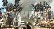 New Mobile Report Gundam Wing samplec3