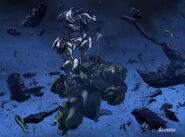 ASW-G-08 Gundam Barbatos (4th Form) (Episode 13) - Long Sword