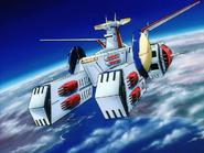 Mobile Suit Gundam Journey to Jaburo PS2 Cutscene 015 White Base
