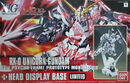HG Unicorn Gundam Destroy Mode + Head Display Base