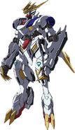 Gundam barbatos lupus rex front