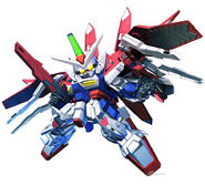 SD Gundam G Generation Crossrays Gundam LO Booster