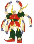 GF13-041NSI Ashura Gundam Front