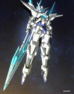 GN-9999 Transient Gundam - GN Partisan (Space)