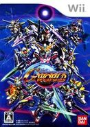 SD Gundam G Generation World Front Cover