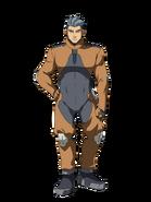 G Gen Cross Rays Custom Character (Male Tekkadan Pilot)