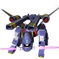 Unit cr bucue twin railgun