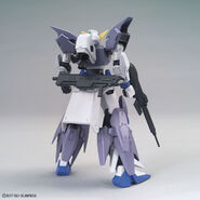 Gundam Tertium (Gunpla) (Rear)