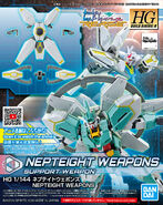 HGBDR Nepteight Weapons
