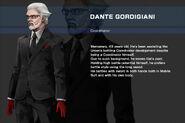 Gundam SEED DESTINY ASTRAY B Character Dante Gordigiani