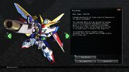 Wing Gundam Data From SD Gundam G Generation Cross Rays
