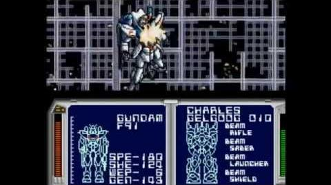 Lets play Gundam F91 formula wars act 12 Final Battle