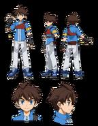 Riku Mikami character sheet