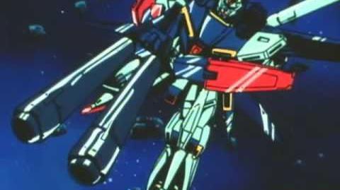 017 MSZ-010 ZZ Gundam (from Mobile Suit Gundam ZZ)