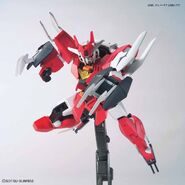 Marsfour Gundam (Gunpla) (Action Pose)