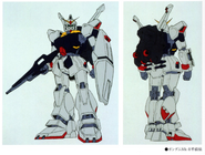 RX-178 Gundam Mk-II Earlier Design Color