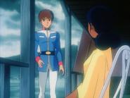 Mobile Suit Gundam Journey to Jaburo PS2 Cutscene 054 Amuro Lalah