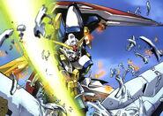 XXXG-01W Wing Gundam - Oz Destruction