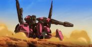 Flauros-Artillery mode front