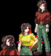 Gundam info Character Sheet Murrue Ramius