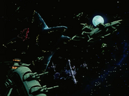 Mobile Suit Gundam Journey to Jaburo PS2 Cutscene 062 Solomon