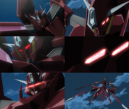 Arche Gundam head detail