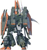 GAT-X252R Rot Forbidden Gundam (Rear)