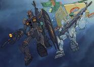 Gundam The Origin MSD Cucuruz Doans Island chapter 11