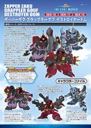 Dark Axis Trio Character File