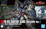 HGUC Gustav Karl (Unicorn Ver.)