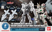 HGUC Unicorn Gundam (Destroy Mode) -Painting Model-